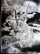 - artwork PRAWIRODIGDOYO-1187378264.jpg - 2005, Paper, Figurative
