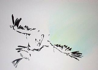 Marty Montez Artwork Eagle Dancer, 2003 Mixed Media, Western