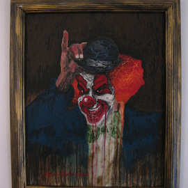 Drippy Clown By Marvin Teeples