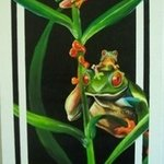 Tree Frogs By Marvin Teeples