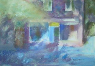 Artist: Maryann Burton - Title: Shaded Corner in Piermont - Medium: Watercolor - Year: 2012