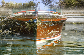 Photography by Mary Mansey titled: Antique Boat, created in 2010