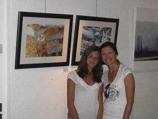 Color Photograph by Mary Mansey titled: Shamal Exhibition Baveno Italy, created in 2009