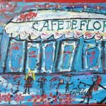 Cafe de Flore By Mary Zeman