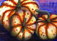 - artwork Fall_Pumpkins-1162780501.jpg - 2006, Mixed Media, Still Life