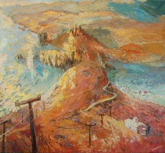 Renata Szpunar Kubczyk Artwork THE END OF HELLAS, 2013 Oil Painting, Landscape