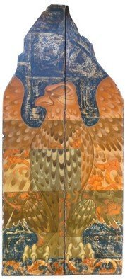 Artist: Matei Enric - Title: PHOENIX - Medium: Tempera Painting - Year: 2011