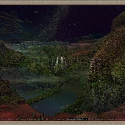 , The Critical Angle Of All, Landscape, $2,205