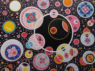 Acrylic Painting by Matthew Thompson titled: cosmic, 2014