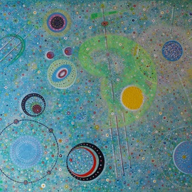 Matthew Thompson Artwork cosmos 3, 2014 Acrylic Painting, Abstract