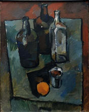 - artwork Still_Life_with_Orange-1054078813.jpg - 1994, Painting Oil, Still Life