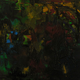 Leonardas Mikalojus  Turas Artwork The Evening Tree, 2009 Other, Abstract