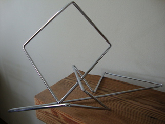 Max Tolentino Artwork GEOMETRY, 2016 Steel Sculpture, Abstract