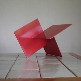 Max Tolentino: 'TRILOGIA', 2011 Steel Sculpture, Abstract. Artist Description: Not available for prompt delivery ...