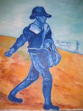 - artwork il_seminatore_after_Vang_Gogh-1081865872.jpg - 2004, Painting Oil, Figurative