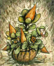 - artwork Potted_Flower_1-1192559366.jpg - 1994, Watercolor, Still Life