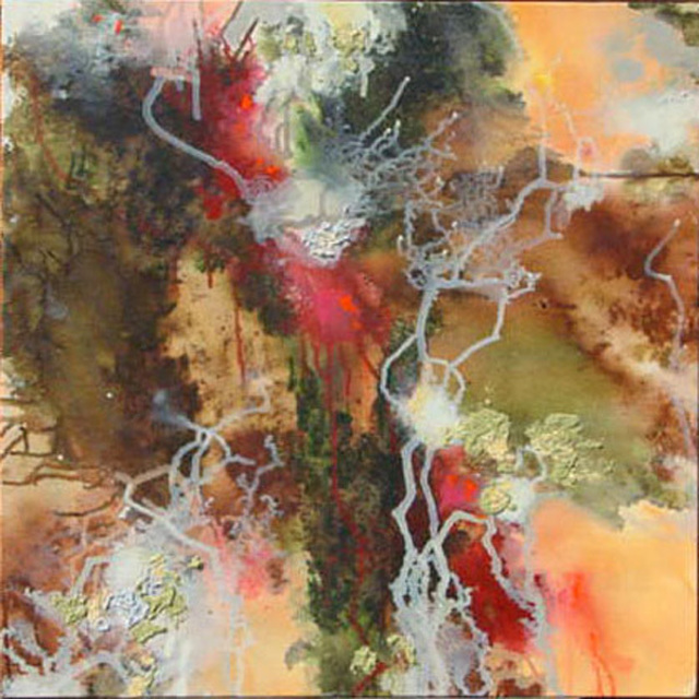 Valerie Hoffmann  'LICHEN', created in 2007, Original Painting Acrylic.
