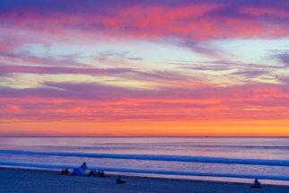 Mcclean Photography: 'fire sunset in pacific beach', 2019 Color Photograph, Landscape. Artist Description: Due to the high cost of living, many people decide to move away from San Diego.  The sunsets, landscapes and people make it worth remaining here, despite the costs.  I decided to take up photography as a business, and as a way to continue to enjoy where I ...