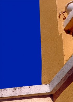 Maureen Chase: 'Blue Sky, New Mexico', 2010 Color Photograph, Abstract Landscape. Artist Description:   abstract  ...