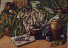 - artwork still_life-1012076291.jpg - 2000, Painting Oil, Still Life
