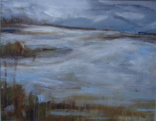 Artist: Melanie Williamson - Title: Approaching Winter Storm - Medium: Oil Painting - Year: 2008