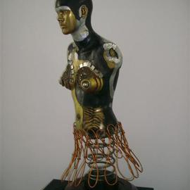Selin Melek Aktan Artwork Beauty of day, 2009 Mixed Media Sculpture, Figurative