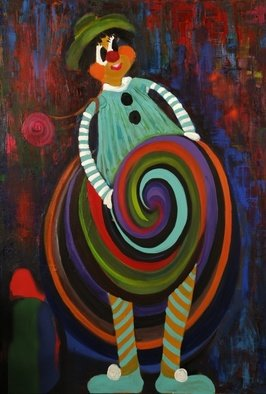 Artist: Selin Melek Aktan - Title: chic - Medium: Acrylic Painting - Year: 2008
