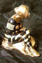 - artwork woman_in_black_dress-1304168035.jpg - 2004, Sculpture Bronze, Figurative
