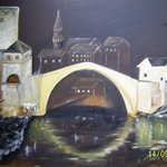 Old Bridge Mostar By Meliha Druzic