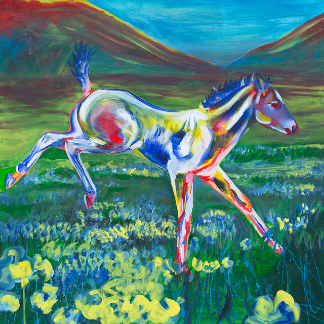 Artist Melissa Burgher. 'Fancifoal' Artwork Image, Created in 2015, Original Painting Oil. #art #artist