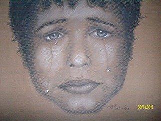 Melissa P. Cabrales Artwork Lloroso, 2011 Charcoal Drawing, People