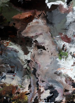 Acrylic Painting by Tom Melsen titled: Dog, 2014
