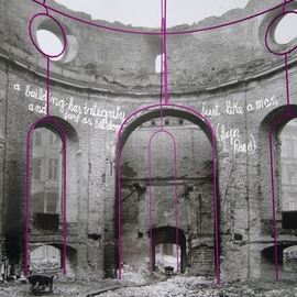 Structural Work Over The Ruin Integrity With Graffiti I, Juan Garaizabal