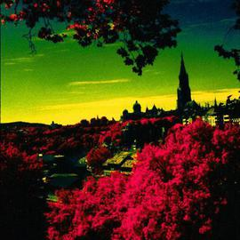 Youri Messen-jaschin: 'Berne IV', 1981 Color Photograph, Landscape. Artist Description: (r) 1981. by ProLitteris, Po. Box CH- 8033 Zurich / (c) 1981 by Youri Messen- Jaschin Switzerland ...