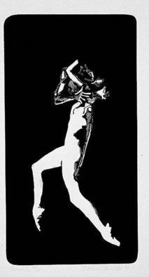 Youri Messen-jaschin: 'Danse V', 1978 Woodcut, Undecided. Xyolography 1/ 15(r) 1978 by Prolitteris Po. Box CH. - 8033 Zurich(c) 1978 by Youri Messen- Jaschin Switzerland...