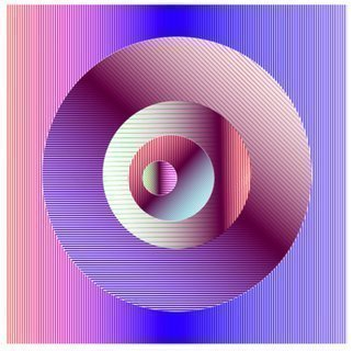 Youri Messen-jaschin: 'Quark', 2015 Serigraph, Optical. Artist Description:  1/ 15 print | Paper: 55 x 50,5 cm | Print: 29 x 29 cm | Paper Lessebo Bright 400 g/ m2 | 2015 | Youri Messen- Jaschin | copyright 2015 | registered by Prolitteris Universitaetstrasse 100 CH. 8033 Zurich Switzerland...