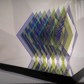 Youri Messen-jaschin: 'Rhombus', 2014 Other Sculpture, Optical. Artist Description:  Op art | Plexiglas + Screenprinting(c) 2014 | Youri Messen- Jaschin(c) 2014 | photography | Youri Messen- Jaschin(r) by Prolitteris 8033 Zurich SwitzerlandUniversitaetstrasse 100 CH. 8033 Zurich  Switzerland    sculpture Op art | Plexiglas | screenprinting |(c) Photography | 2014 | Youri Messen- Jaschin | Switzerland |(r) Prolitteris | 8033 Zurich | Switzerland |                   ...