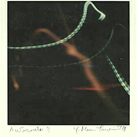Youri Messen-jaschin: 'autoroute', 1977 Other Photography, Abstract. Artist Description: Polaroid | Highway | near Bern Switzerland A(r) Prolitteris ZA1/4rich, many exhibition Switzerland...