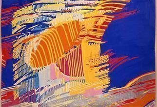 Youri Messen-jaschin: 'without title', 1966 Tempera Painting, Abstract. Tempera on paper(r) 1966. by ProLitteris, Po. Box CH- 8033 Zurich / (c) 1966 by Youri Messen- Jaschin Switzerland ...