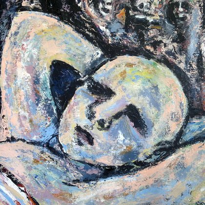 , Nightmare, Abstract Figurative, $945