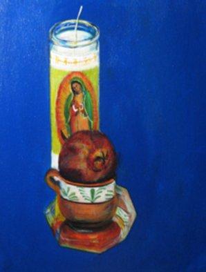 Eduardo Diaz Artwork MUJER, 2010 Acrylic Painting, Spiritual