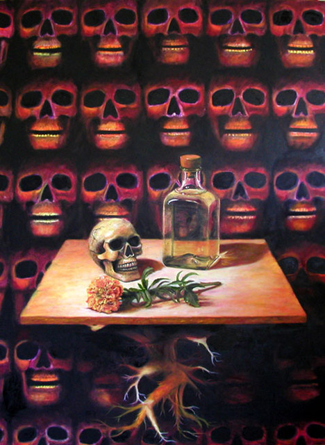 Eduardo Diaz  'Still Life', created in 2002, Original Pastel.