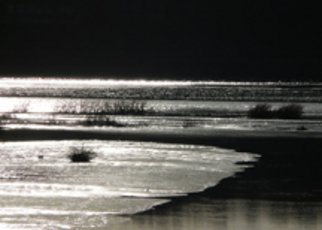 Marcia Geier: 'Drummer Cove, Wellfleet, MA', 2008 Black and White Photograph, Seascape.