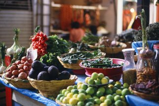 Color Photograph by Marcia Geier titled: Oaxaca Market, Mexico, created in 2005