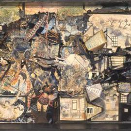 Micha Nussinov Artwork Kobe the day after, 1995 Collage, Other