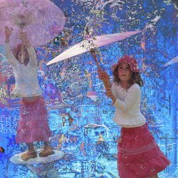 , Umbrella Girl, Fantasy, $945