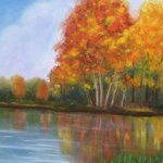 A Fall Day, Falconbridge Lake By Michael Navascues