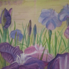 Irises By Michael Navascues