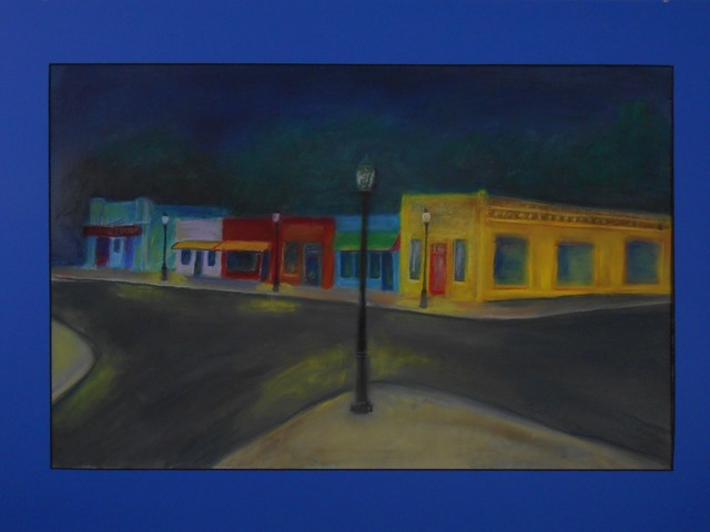 Michael Ashcraft  'Mimosa Cafe', created in 2019, Original Painting Oil.