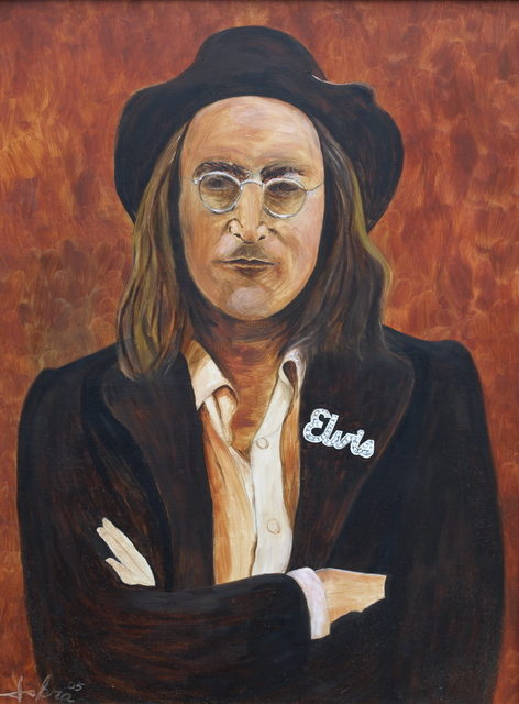 Michael Iskra  'John Lennon', created in 2009, Original Photography Color.